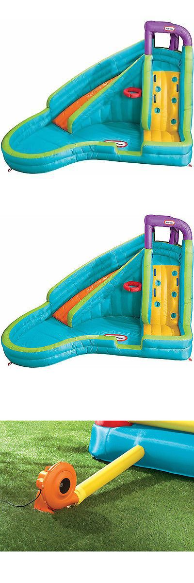 Water Slides 145992: Little Tikes Slam N Curve Inflatable Water Slide -> BUY IT NOW ONLY: $443.71 on eBay!