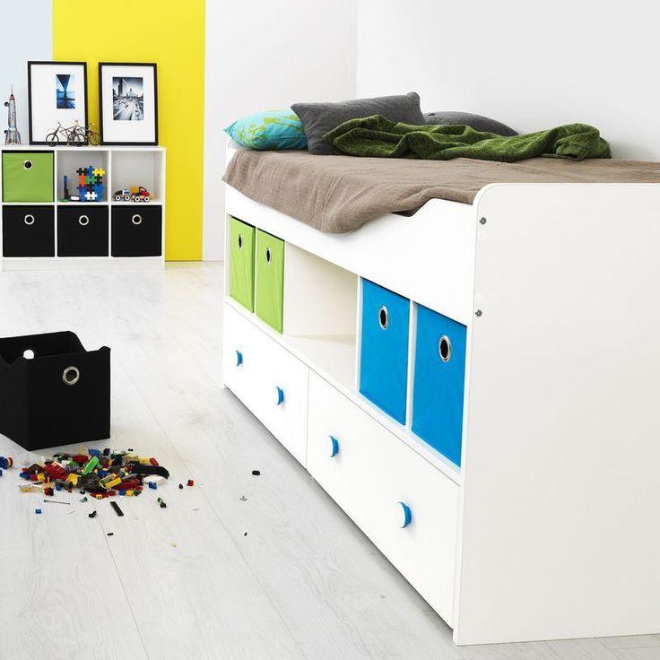Perfect Tvilum Halbhoch Bett x Kinderzimmer Combee wei g nstig kaufen