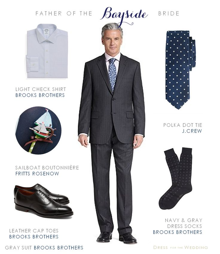 Styling ideas for a men's gray suit for a wedding, to be worn by the father of the bride, or the groom and his groomsmen. Makes a great look for male…