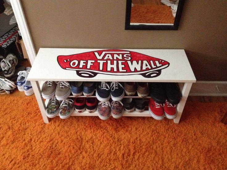 vans shoe storage