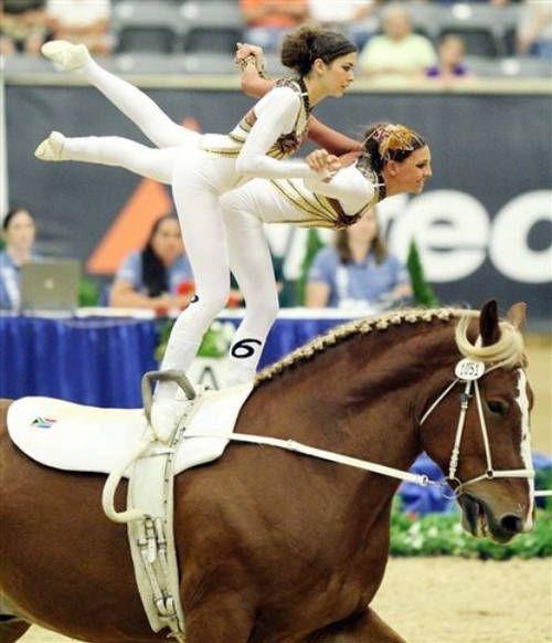 Equestrian+Vaulting   Equestrian Vaulting - World Equestrian Games 2010