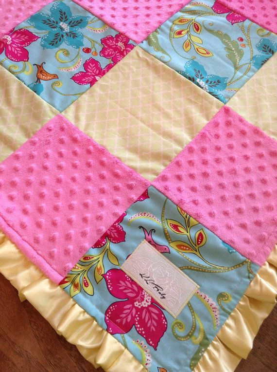 Hawaii Beach Theme Baby Girl Blanket by KLBaby on Etsy ...