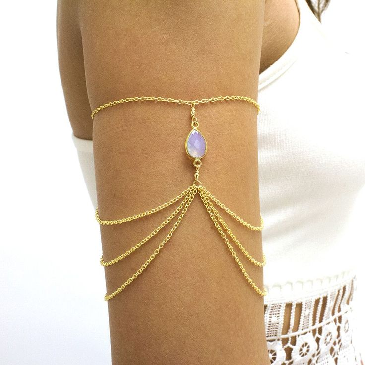 Queen of the Nile Arm Chain