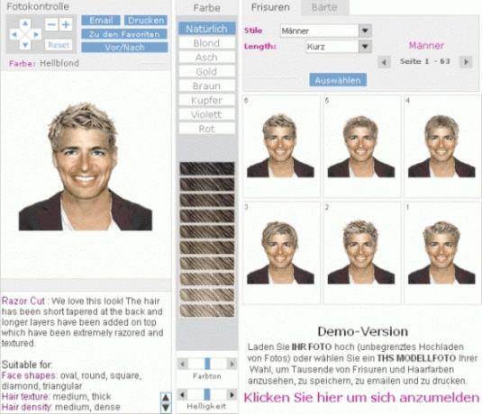 Frisuren Männer Foto Testen - Pinterest Design