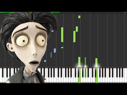Victor's Piano Solo - Corpse Bride [Piano Tutorial] // The Wild Conductor - YouTube