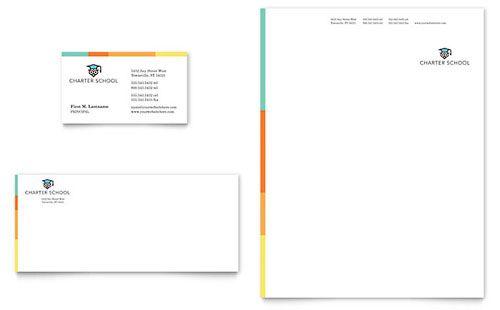 Charter School - Sample Letterhead Template Download Letterhead