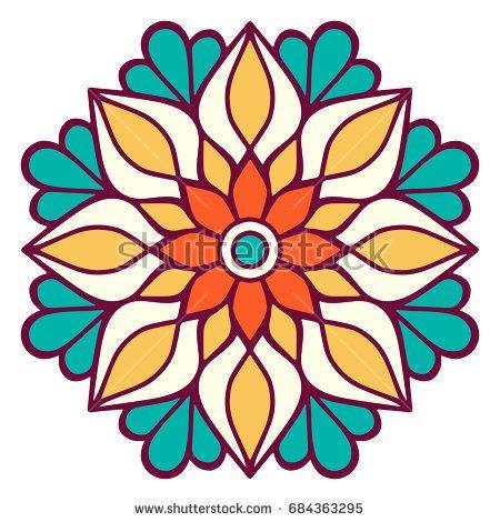 948 best Mandalas images on Pinterest Mandala coloring, Adult - best of mini mandala coloring pages