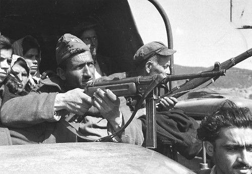 Greek Civil War fighter