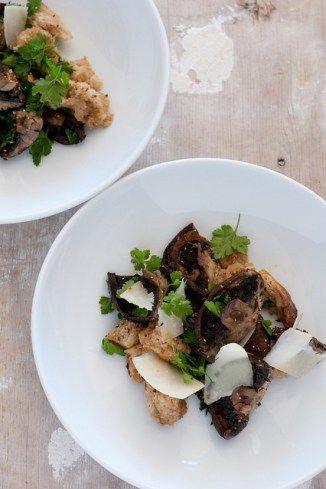 ricetta funghi ovoli in insalata