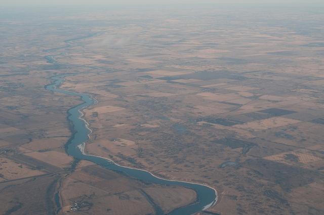 From above, Saskatchewan