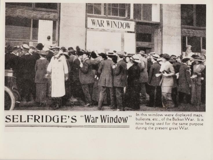 """Selfridges """"War Window"""""""
