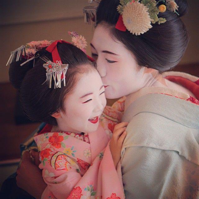 Maiko Henshin Shiki Geisha Maikohenshinshiki Geisha Porträts Fotografie Kunst