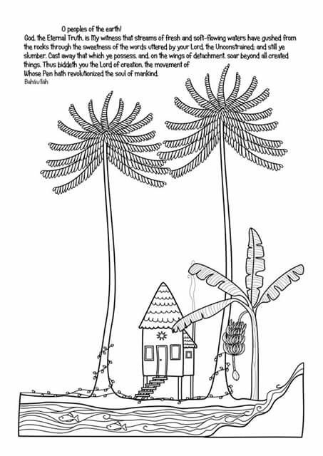 ridvan coloring pages - photo#4