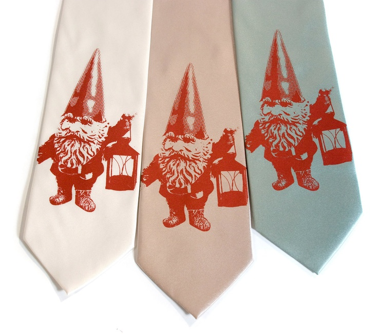 Department of Gnomeland Security I Necktie from Cyberoptix