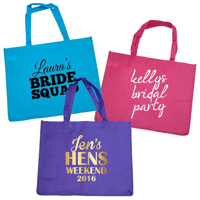 Personalised Budget Tote Bag