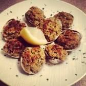 Image result for baked clams oreganata