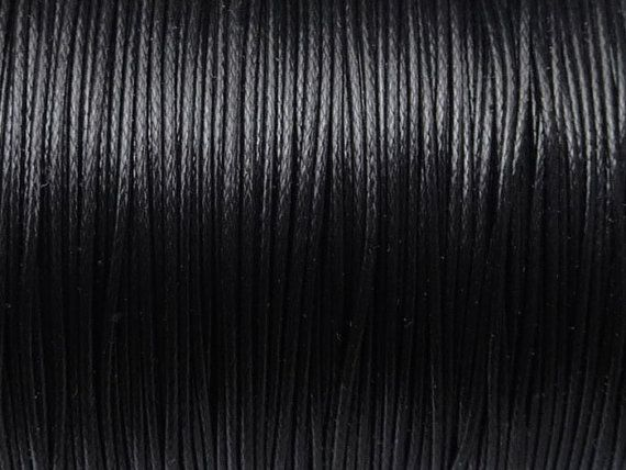 Waxed polyester cord diameter 05mm by EuforioArt on Etsy