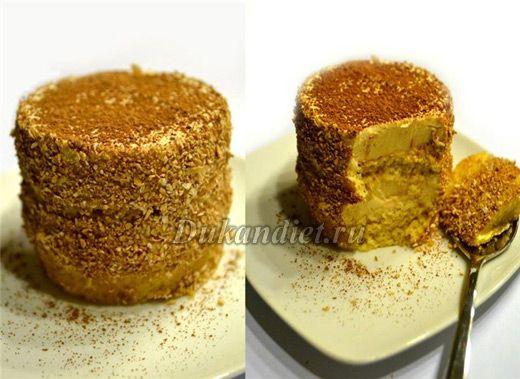 Пирожное «Кофейное наслаждение» | Диета Дюкана