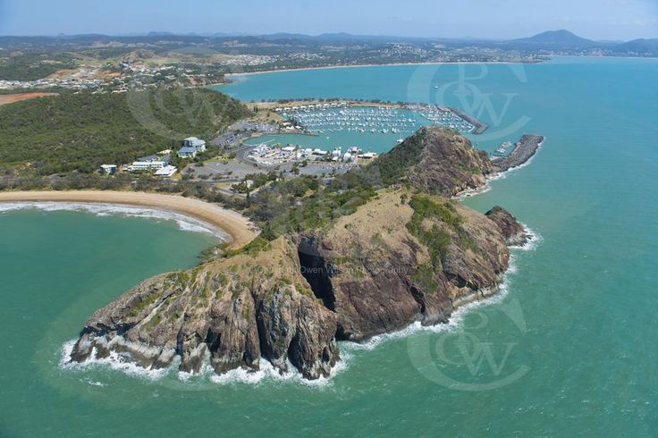 Double Head section of Capricorn Coast National Park and Kepple Bay Marina