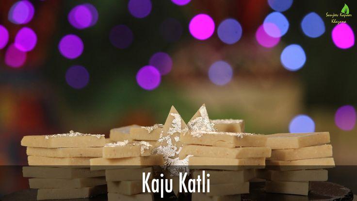 Kaju Katli | Diwali Special Recipe | Sanjeev Kapoor Khazana