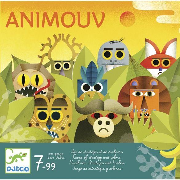 Animouv-stratégiai társasjáték (Djeco) | Pandatanoda.hu Játék webáruház