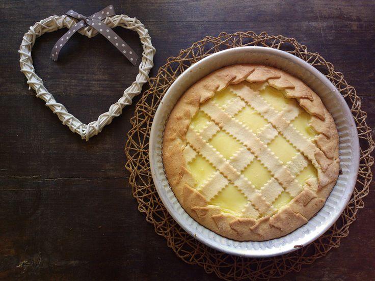 Crostata crema e ricotta - dolce di Pasqua toscano