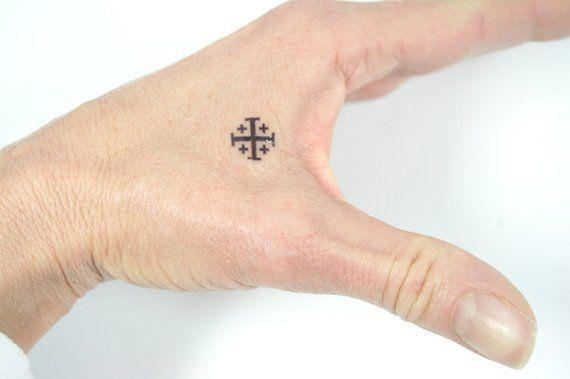 24+ Croix de jerusalem tatouage trends