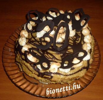 Paleo diós torta