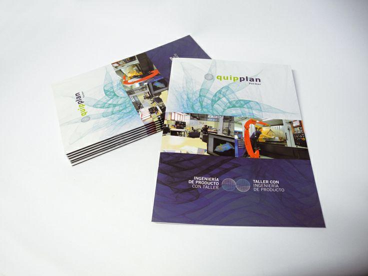 Catálogo de productos para Quipplan Tucker - Calle Mayor Comunicación y Publicidad
