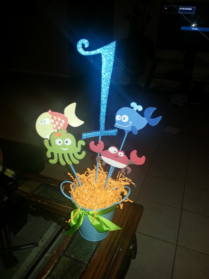 Under the sea theme centerpieces bing images