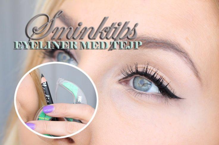 Sminktips - Skarp eyeliner med kajal