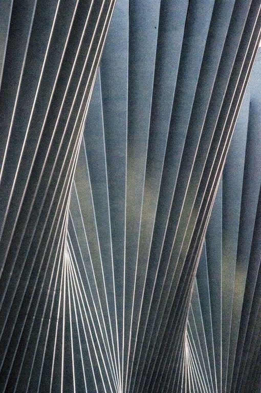 Ventagli - architecture.  Wonderful structure. Inspiring for paper folding.