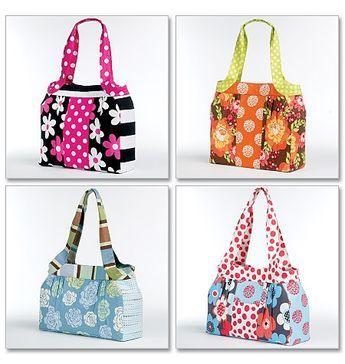 Free Patterns: all sorts of free bag patterns