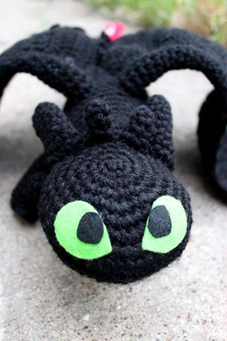 12 best Toothless pattern images on Pinterest | Crochet patterns ...