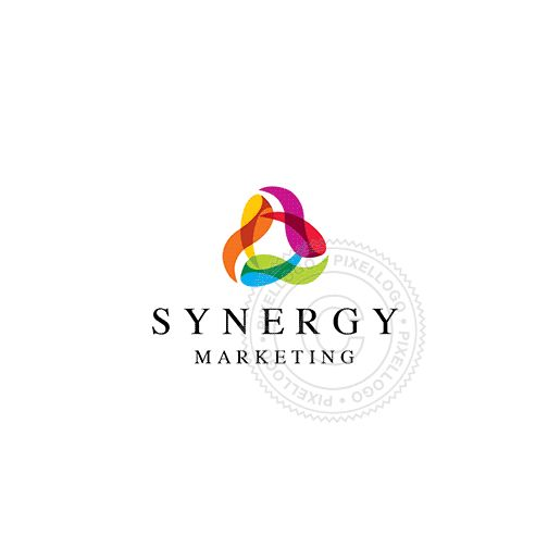 Best 25 marketing logo ideas on pinterest bc logo logo synergy marketing logo color ribbons in circle logodive altavistaventures Image collections