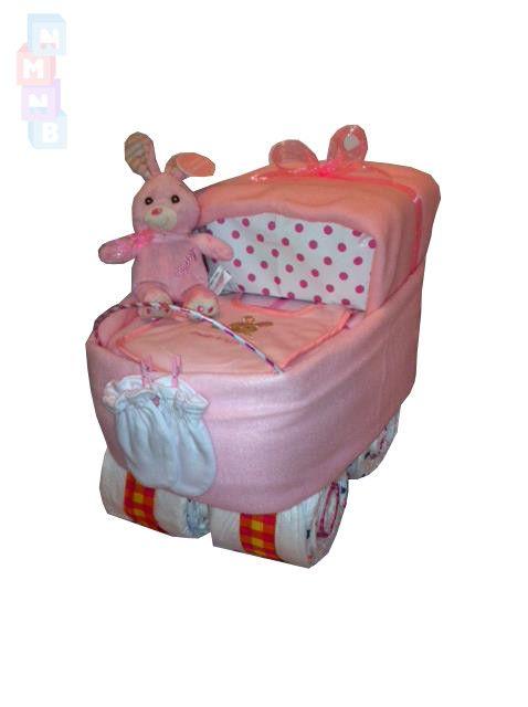 Pink Pushchair Cake
