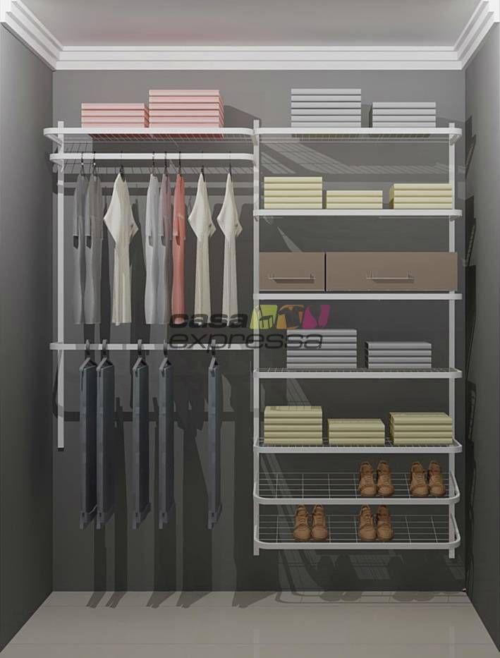 Closet Aramado Preto : Melhores ideias sobre closet aramado no
