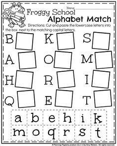 Alphabet Match Printable