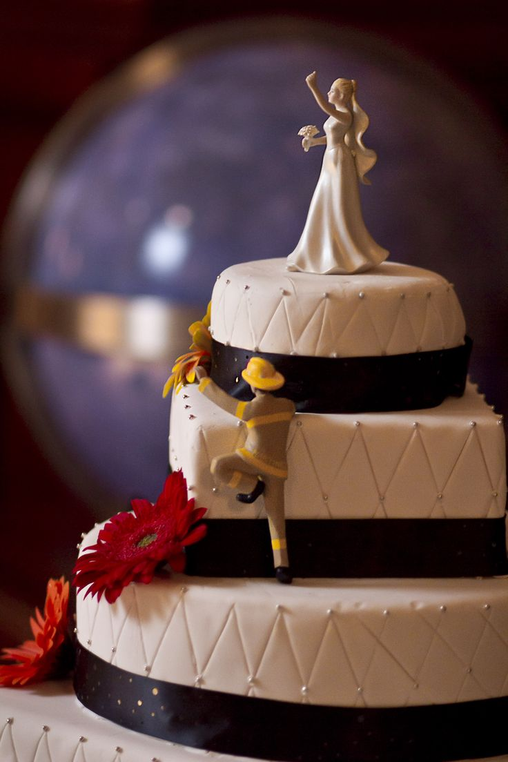 Loved Our Firefighter Wedding Cake By Executive Pastry Chef Jeff Bonilla Of  Kitchen 1540 In Del