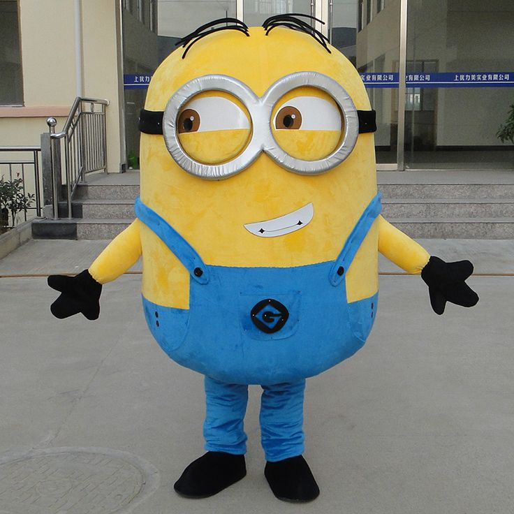 34 Styles Minions Mascot Costume EPE Fancy Dress Outfit Adult Mascot Costume Xmas Gift
