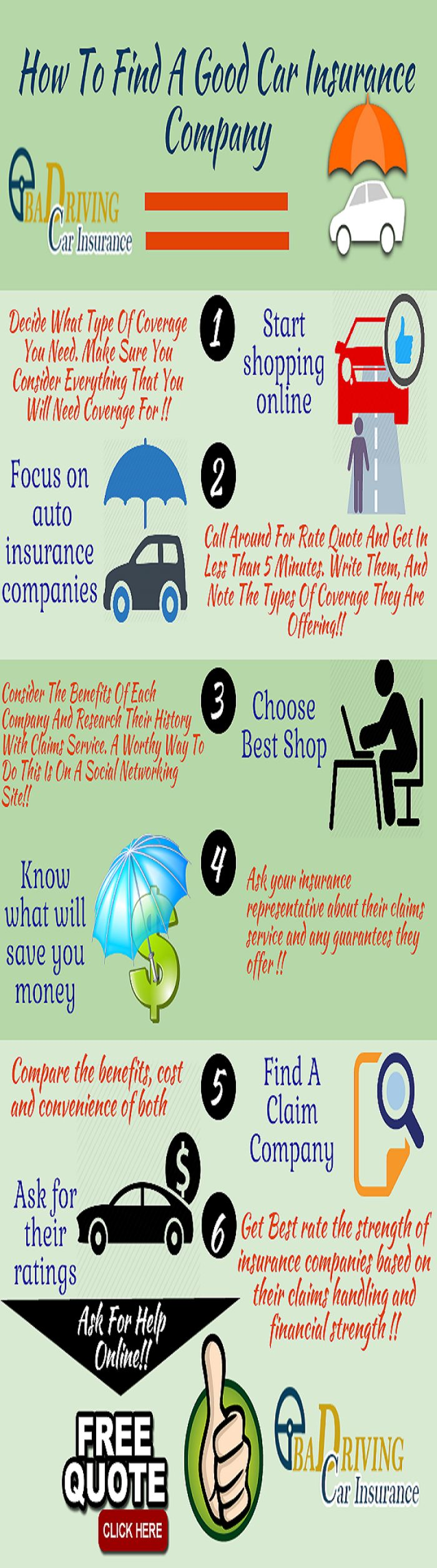 Direct Insurance Quote Fair 9 Best Carauto Insurance Infographic Images On Pinterest