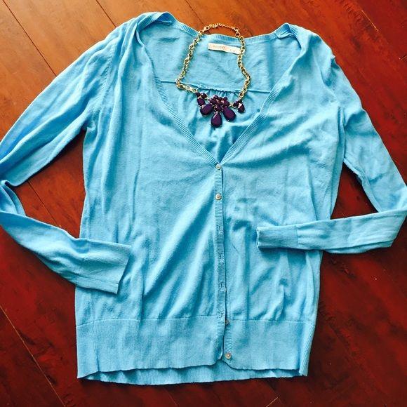 Light blue cardigan Light blue button up  cardi Old Navy Sweaters Cardigans