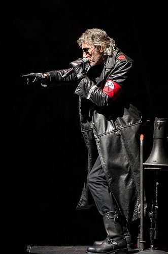 """Roger Waters. """"ALL YOU HAVE TO DO IS FOLLOW THE WORMS."""""""