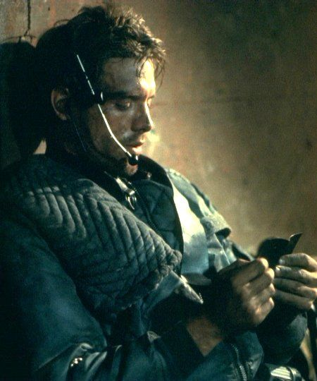 Kyle Reese, Terminator, Michael Biehn Love this character.  One of many shades of Biehn.