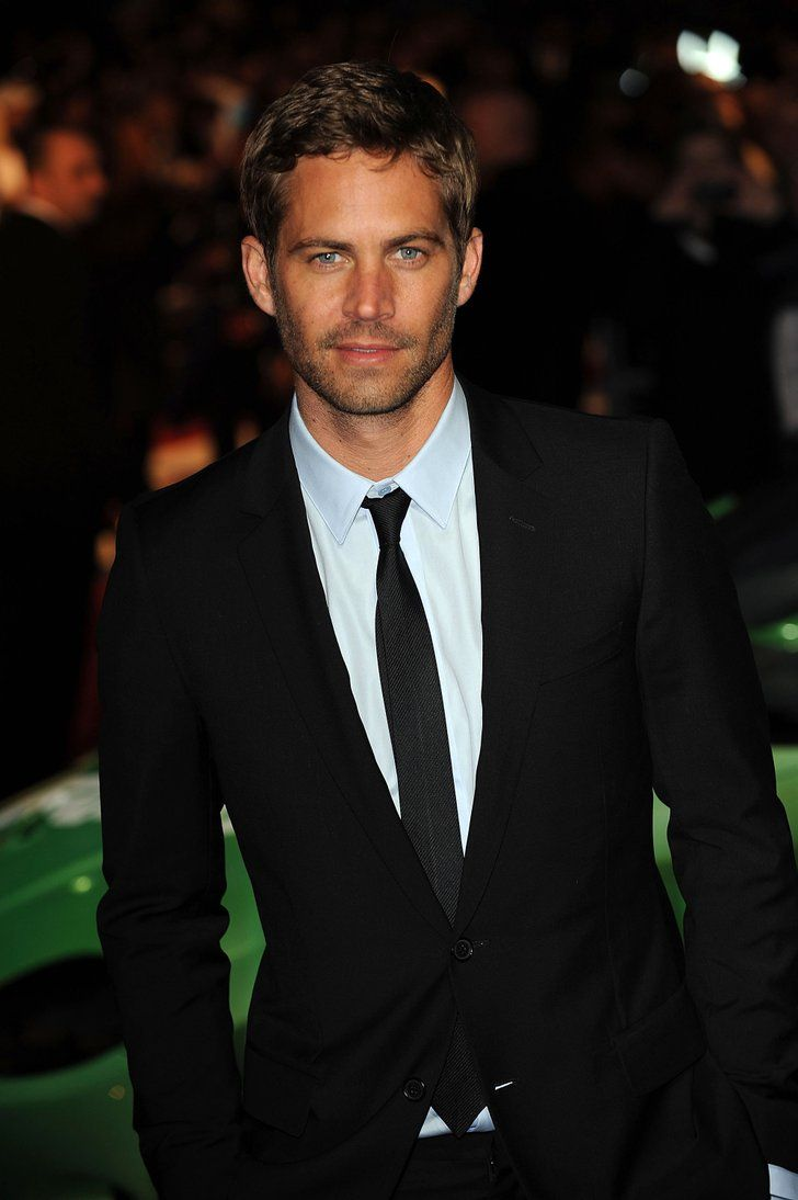 He looked handsome in a suit and tie for the UK premiere of Fast | Look Back at Paul Walker's Best Hollywood Moments | POPSUGAR Celebrity