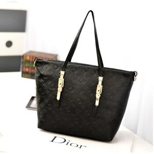 Tas import C002 Black Material: PU leather Size:30x33 IDR:165.000