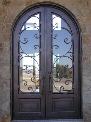wrought iron front doors - Yahoo! Search Results