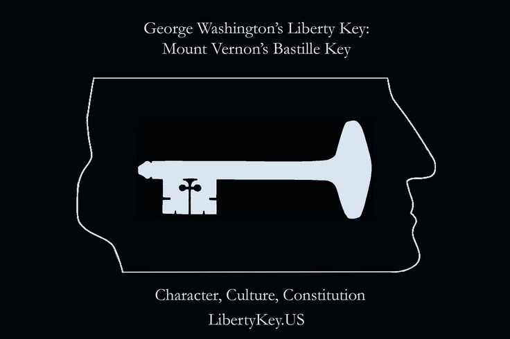 George Washington's Liberty Key: Mount Vernon's Bastille Key – the Mystery and Magic of Its Body, Mind, and Soul (Character, Culture, Consitution)