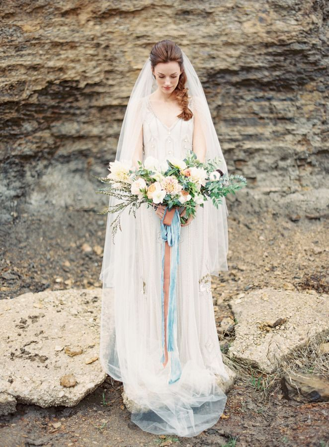 A Line Wedding Dresses for Feminine and Classic brides | see more - https://www.itakeyou.co.uk/wedding/a-line-wedding-dresses-for-feminine-and-classic-brides: | Photography: Kayla Barker - http://kaylabarker.com/::