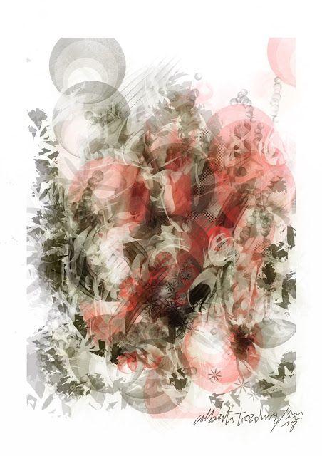 AURIGA ETÍOPE // Como una luz que avanza en el desierto/ dejando atrás las nubes que tu carro/ levanta en polvareda entre las dunas,/ así apareces cual un rayo divino,/ como instrumento de algún castigo arcano./ En los cielos dos palomas torcaces van guiando tu camino hacia la torre. —> https://albertotroconiz.blogspot.com.es/2018/02/auriga-etiope.html